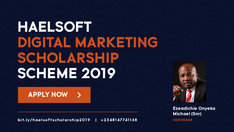 DIGITAL MARKETING TRAINING SCHOLARSHIP